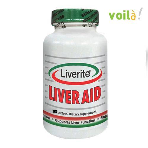 Hình ảnhLiverite Liver Aid: Hỗ trợ chức năng gan