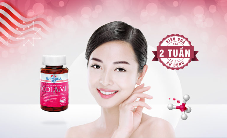 Hình ảnhColami Nutra: Collagen thủy phân và HA