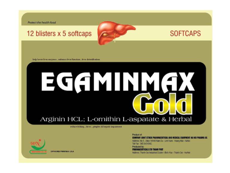 Hình ảnhEgaminmax Gold: Tăng Cường Chức Năng Gan