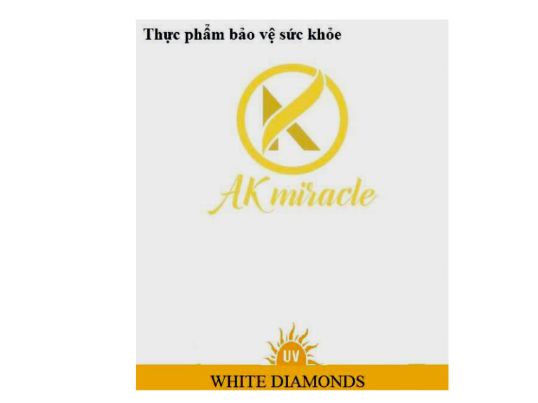 Hình ảnhAK Miracle White Diamonds: Bảo vệ da, đẹp da