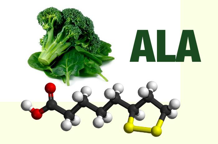 Hình ảnhThông Tin Về Axit Béo ALA (Alpha-Lipoic Acid)