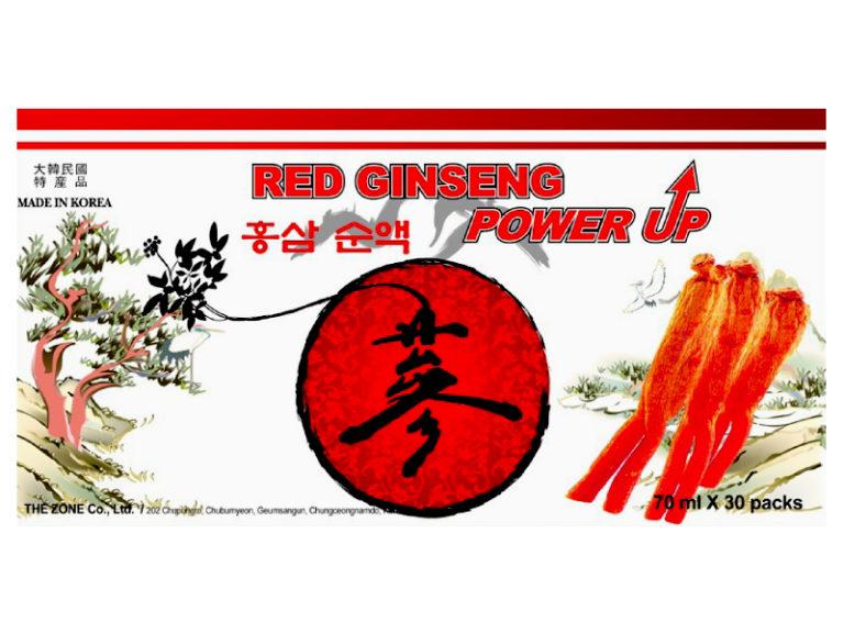 Hình ảnhRED GINSENG POWER UP: Tăng Cường Sinh Lực, Chống Lão Hóa