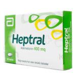 Heptral 400: Bổ sung SAMe tăng cường chức năng gan