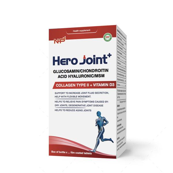 Hero Joint+: Viên bổ khớp