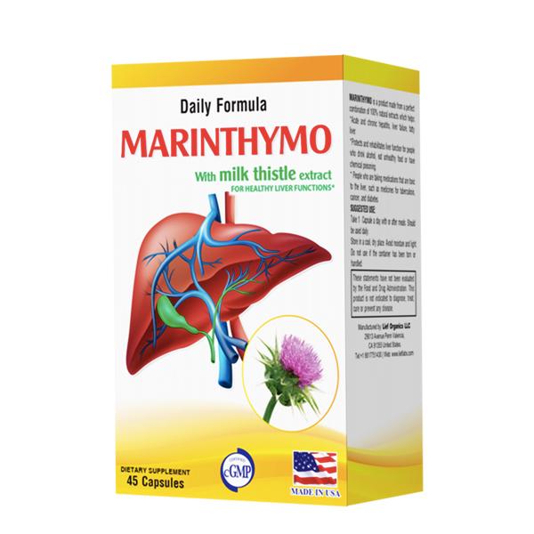 MARINTHYMO: Tăng cường chức năng gan