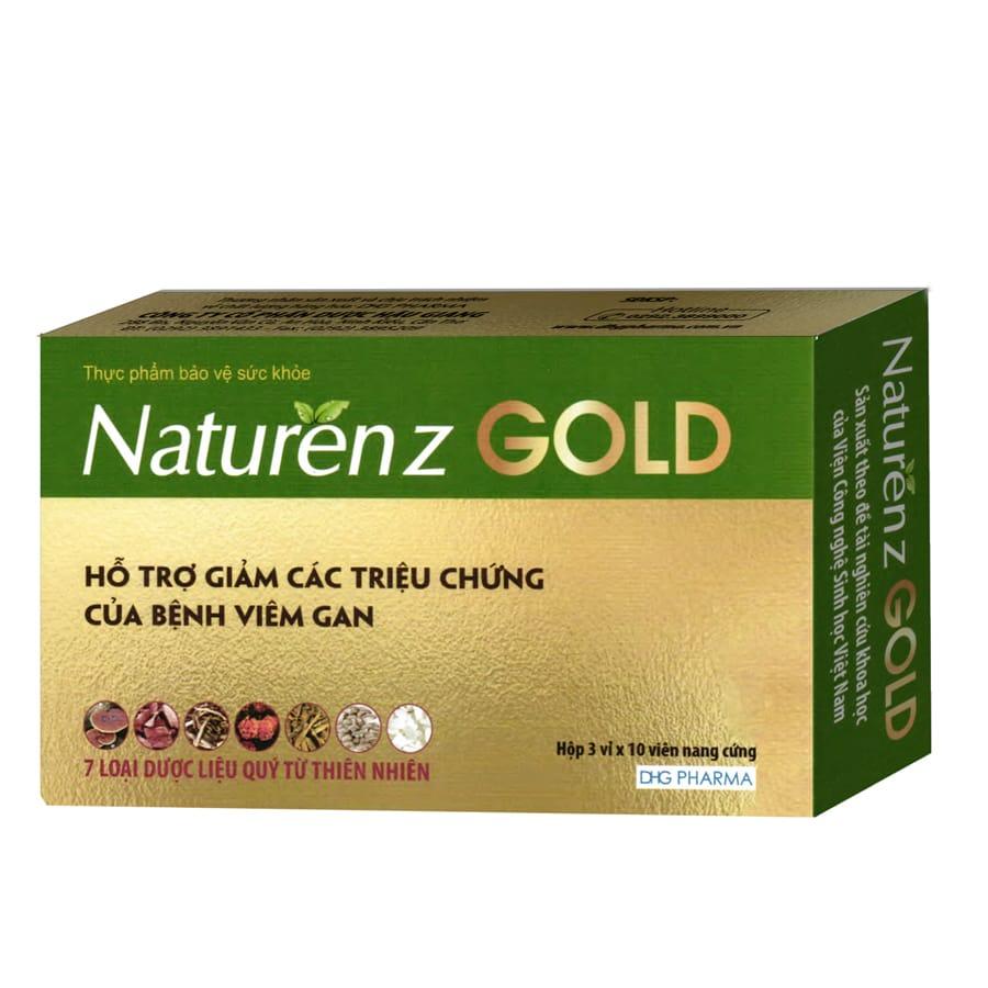 NATURENZ GOLD: Giải độc gan từ 7 loại thảo dược quý từ thiên nhiên