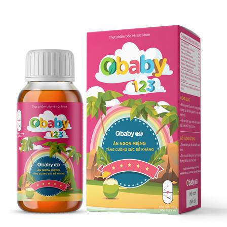 Hình ảnh Siro ăn ngon OBaBy123: Bổ sung acid amin và kẽm cho bé