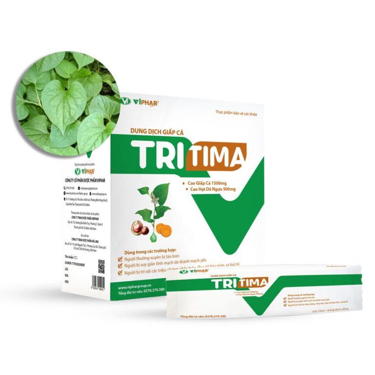 Hình ảnhGiấp cá TRITIMA: Giảm các triệu chứng của trĩ