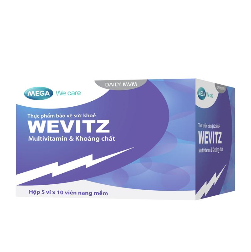 Hình ảnh Wevitz: Viên bổ sung multivitamin và khoáng chất