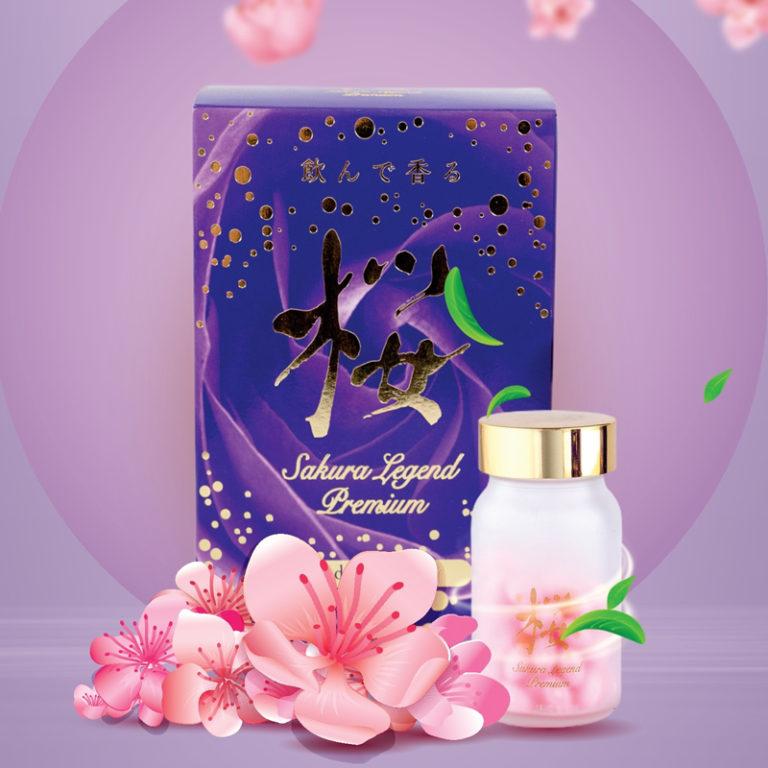 Hình ảnhSakura Legend Premium: Loại bỏ mùi cơ thể, cho hương thơm lan tỏa