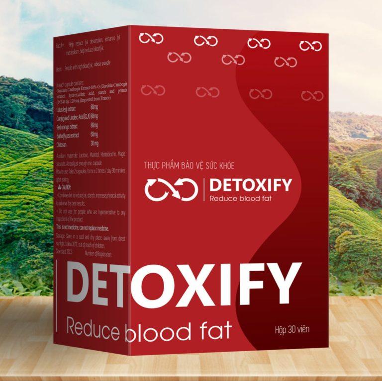 Hình ảnhDETOXIFY REDUCE BLOOD FAT: Giảm hấp thu chất béo