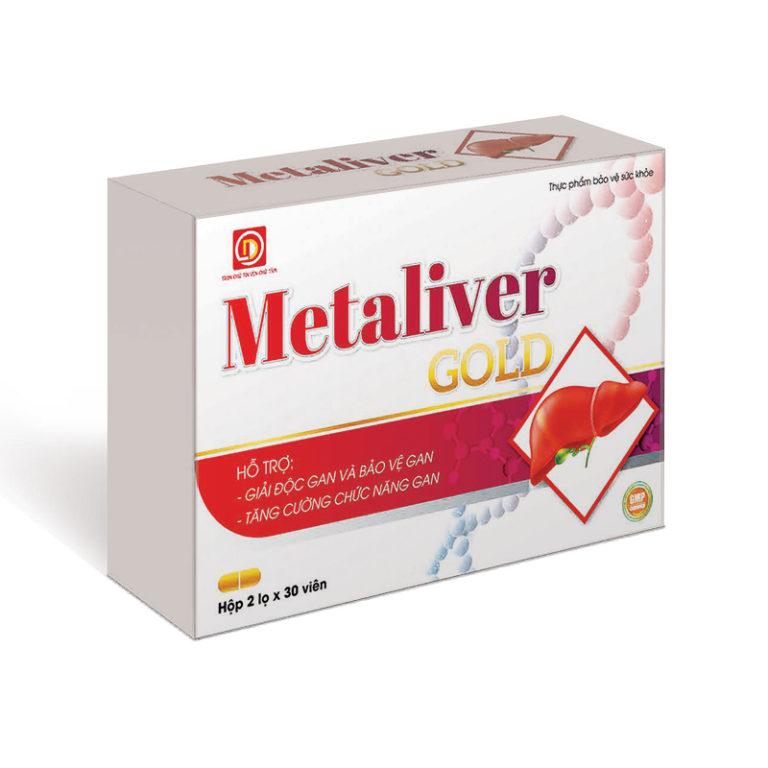 Hình ảnhMetaLiver Gold: Thanh nhiệt, giải độc gan