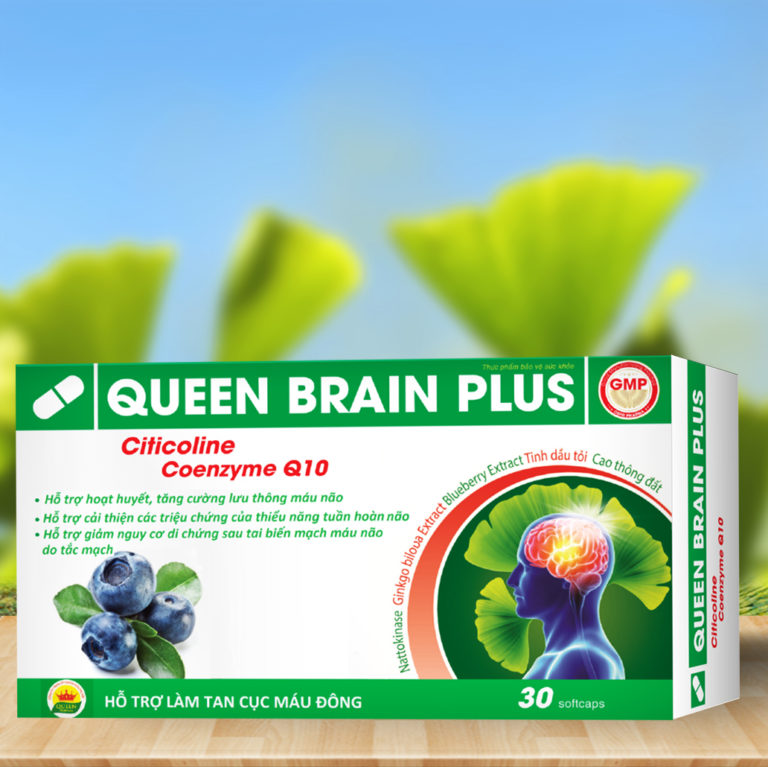 Hình ảnhQUEEN BRAIN PLUS: Tăng cường máu não