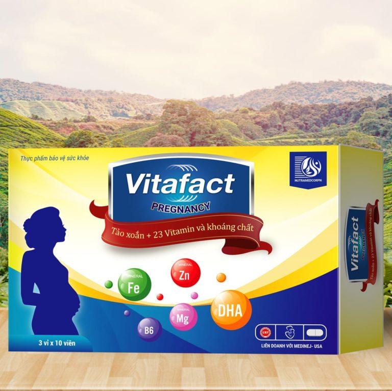 Hình ảnhVitafact Pregnancy: Bổ sung dinh dưỡng thai phụ