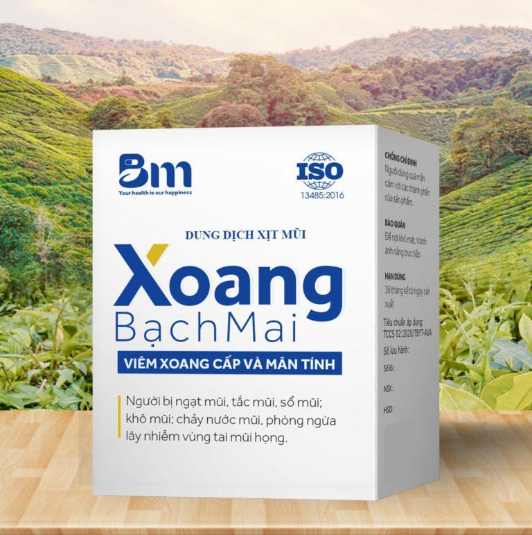 Hình ảnhDung dịch xịt mũi Xoang Bạch Mai