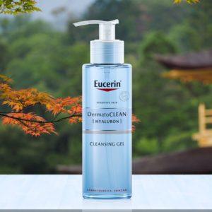 Coupon sản phẩm Giảm 50% Eucerin DermatoClean Hyaluron gel 200mL