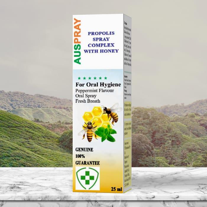 Hình ảnh Auspray Propolis Spray Complex With Honey