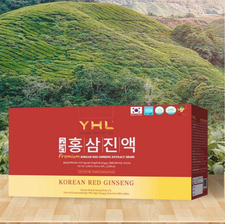 Hình ảnhNước nhân sâm YHL Korean Red Ginseng