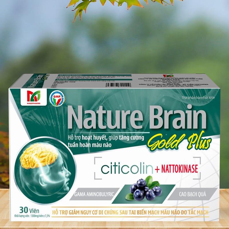 Hình ảnh Nature Brain Gold Plus