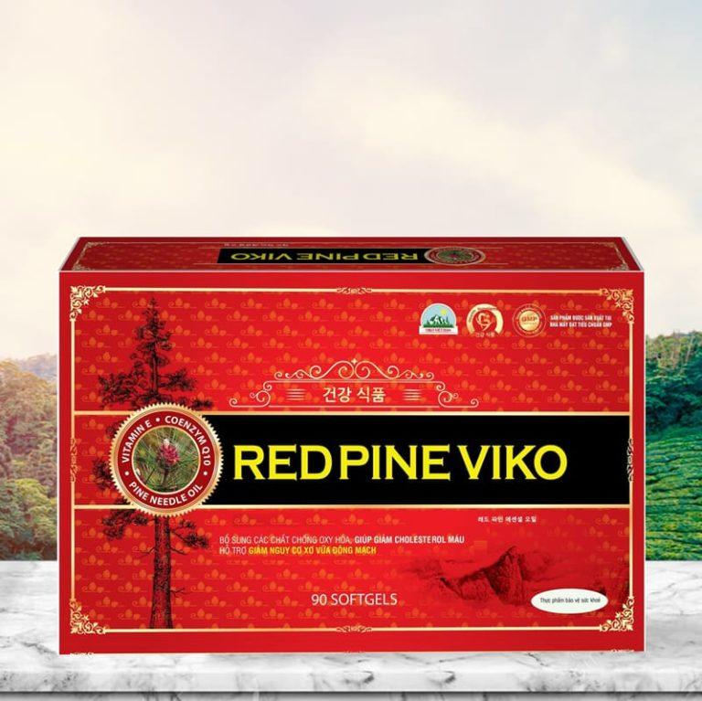Hình ảnhViên dầu thông đỏ RED PINE VIKO