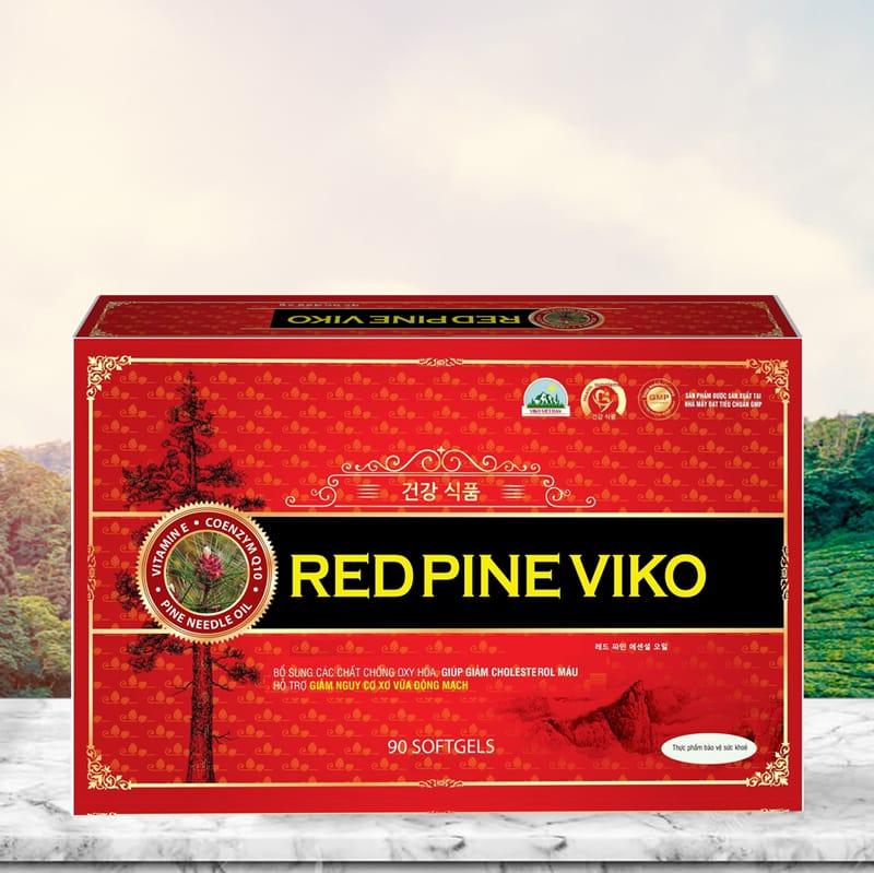 Hình ảnh Viên dầu thông đỏ RED PINE VIKO