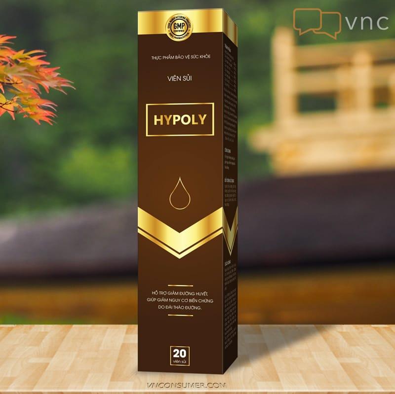 Hình ảnh Viên sủi tiểu đường Hypoly