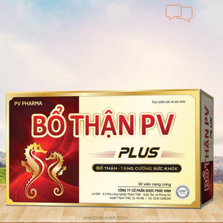 Hình ảnhBỔ THẬN PV Plus