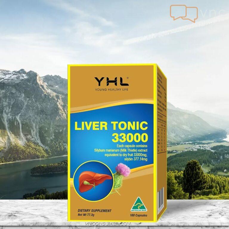 Hình ảnhViên giải độc gan YHL LIVER TONIC 33000