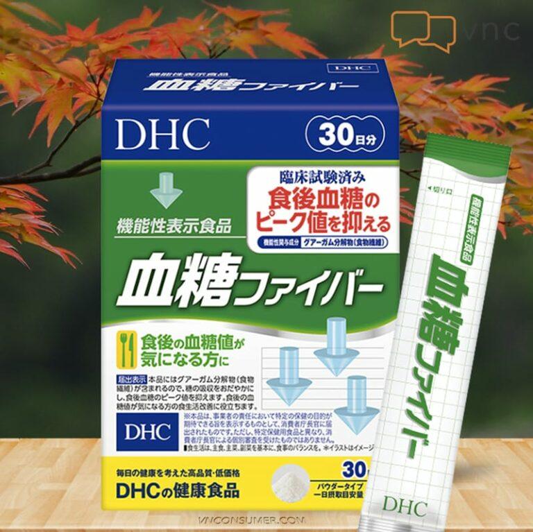 Hình ảnhBột Guar Gum của Nhật DHC Blood Sugar Fiber