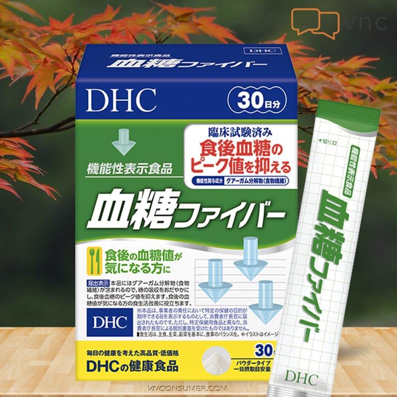 Hình ảnh Bột Guar Gum của Nhật DHC Blood Sugar Fiber