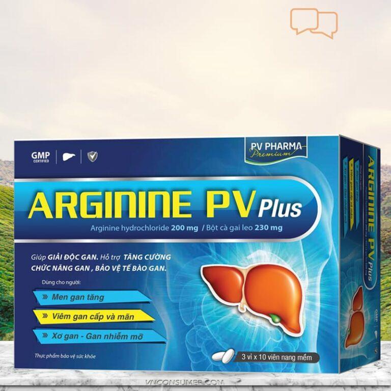 Hình ảnhBổ gan Arginine PV Plus