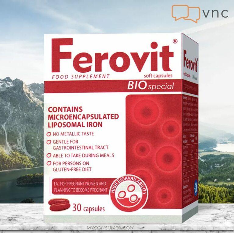 Hình ảnhViên bổ sung sắt FEROVIT Bio Special