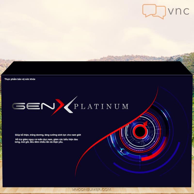 Hình ảnh Bổ thận GEN X PLATINUM