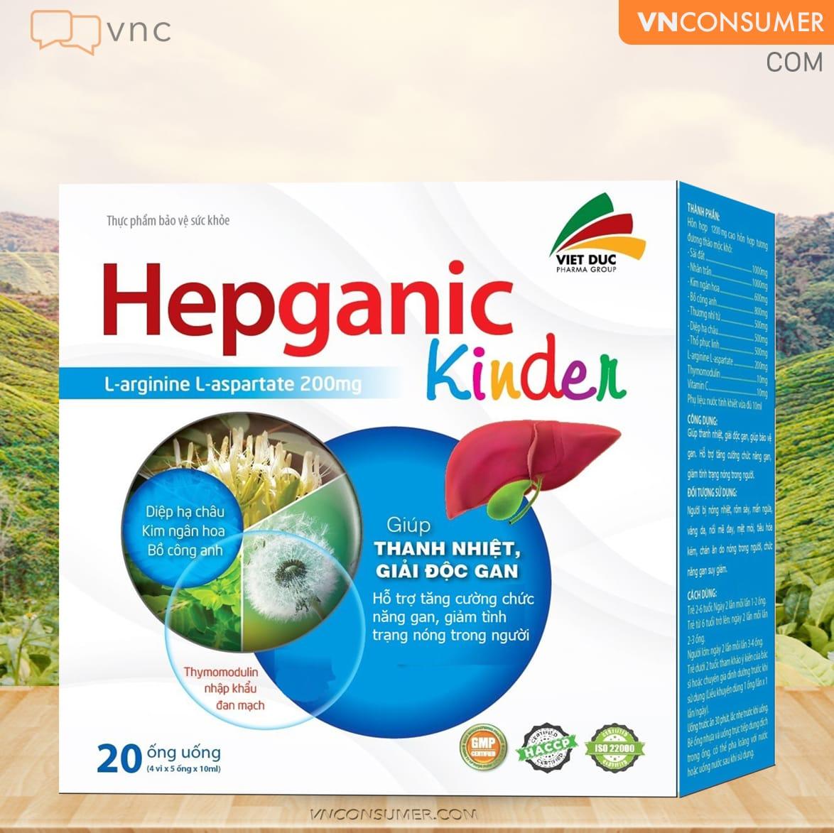 Hình ảnh Hepganic kinder
