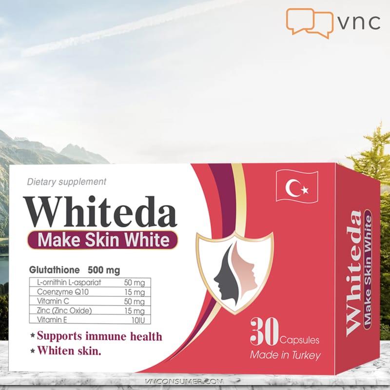 Hình ảnh Viên trắng da WHITEDA