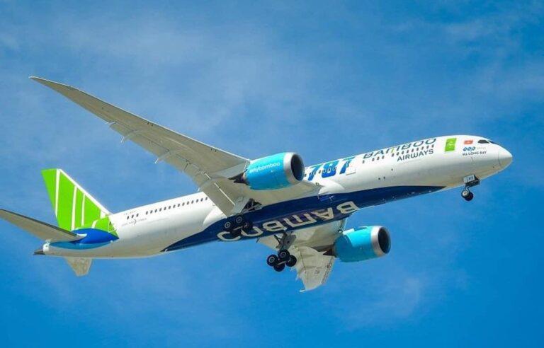 Hình ảnhBamboo Airways là được bay thẳng từ VN tới Mỹ từ 9/2021
