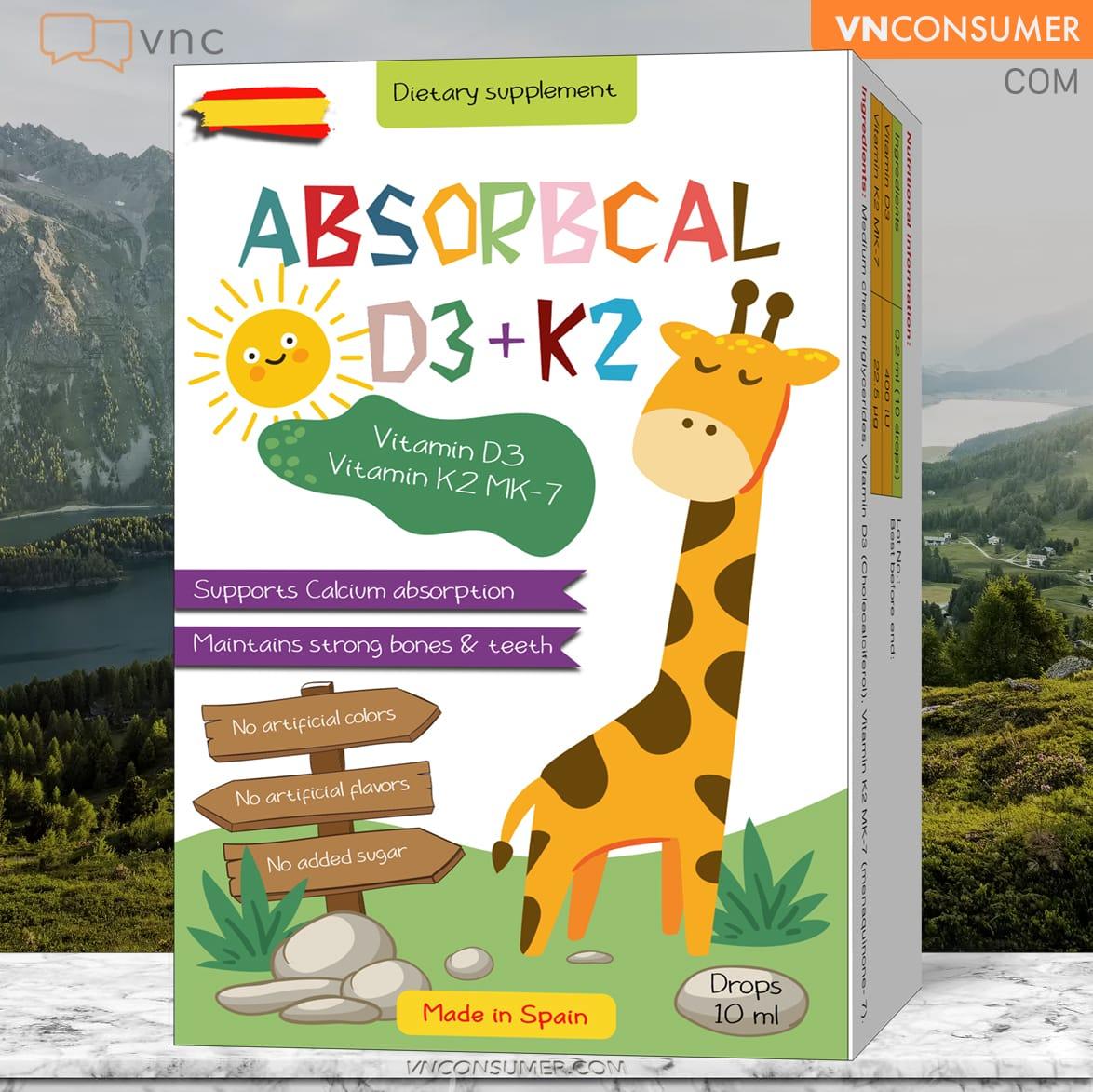 Hình ảnh Absorbcal D3K2