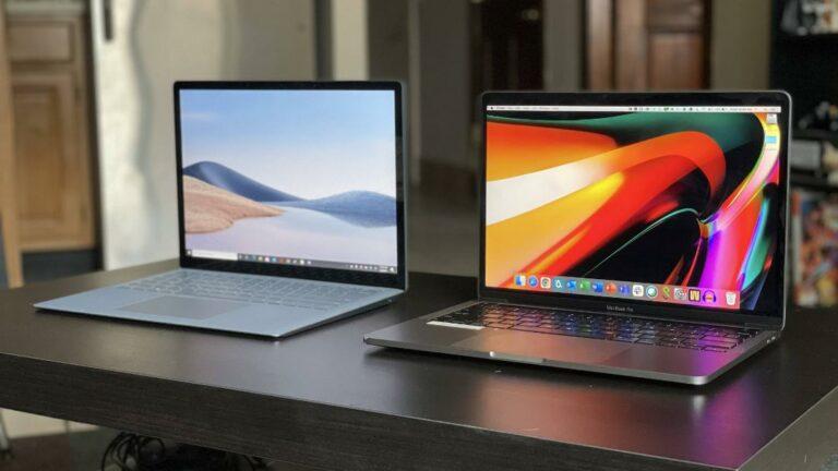 Hình ảnhMacBook Pro M1 vs Surface Laptop 4?