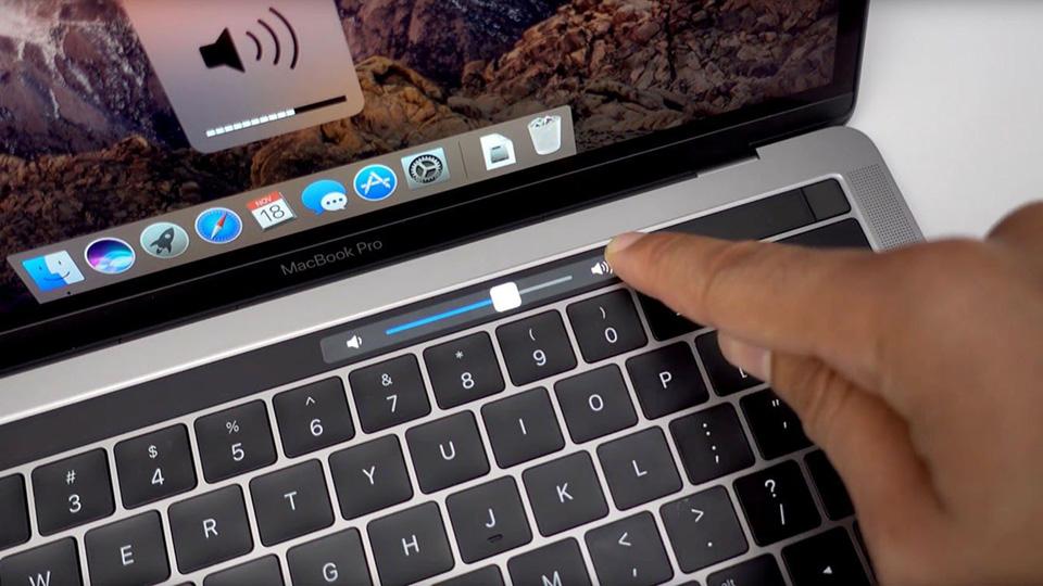 Hình ảnh Cách thay đổi brightness của Touch Bar?