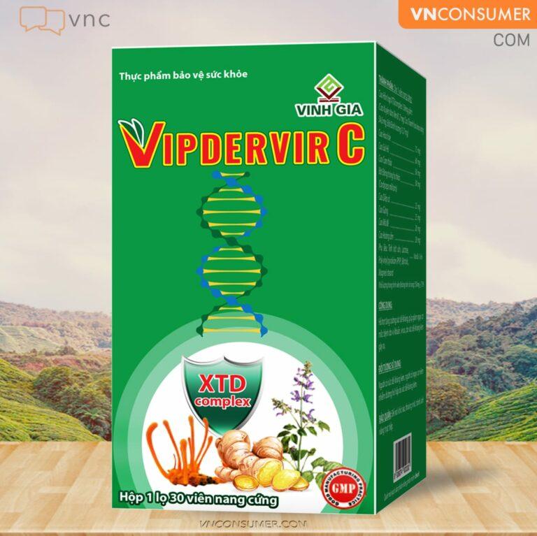 Hình ảnhVIPDERVIR C, tăng đề kháng
